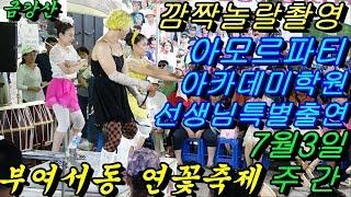 💗버드리💗 7월15일 주간 2018 부여 서동 연꽃축제 초청공연