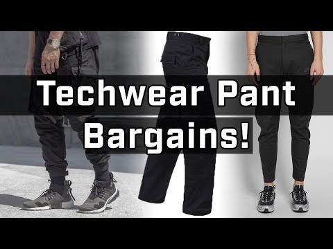 Top Affordable Techwear Pants You Can Buy RIGHT NOW
