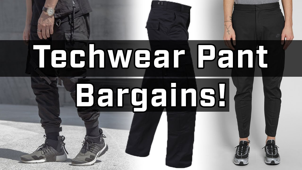 0b018951863 Top Affordable Techwear Pants You Can Buy RIGHT NOW - YouTube