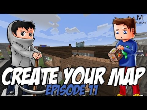 Create Your Map | Boulangerie artisanale | Episode 11 / Minecraft