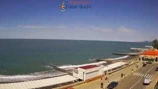 Пляж в Адлере весь с 2014 по 2019 год за 2 минуты