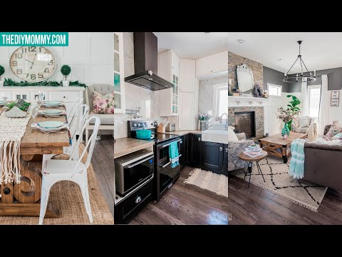 SPRING HOME TOUR 2019 | DIY & Decor Challenge