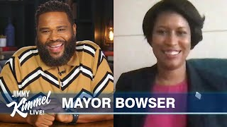 Guest Host Anthony Anderson Interviews D.c. Mayor Muriel Bowser