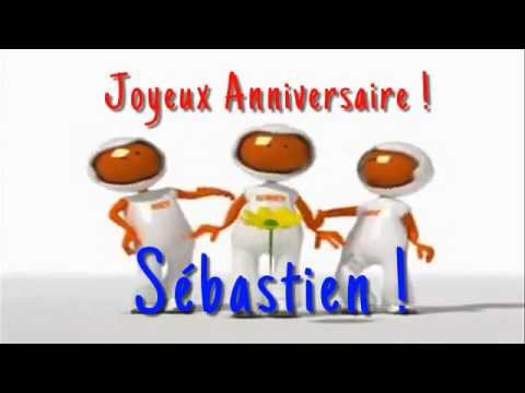 chanson anniversaire sebastien