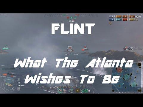 Flint - The Ship The Atlanta Wishes To Be [162k damage]