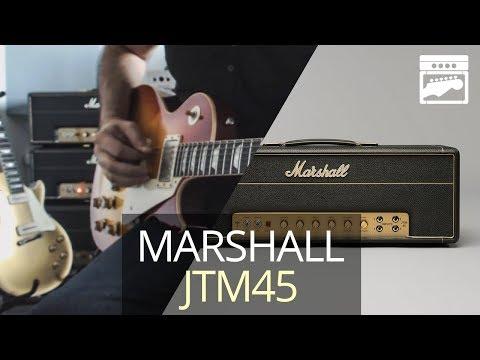 Marshall JTM45 2245 Plexi Amp Demo