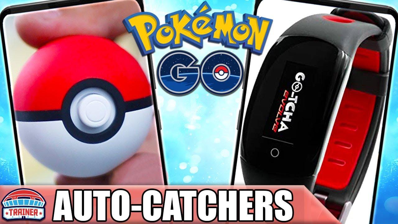 BEST *AUTO-CATCHER* for POKÉMON GO IS? Go Plus, Pokeball Plus, Go-tcha, Dual Catchmon | Pokémon GO