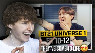 Download THEY'VE COME TO LIFE! (BTS (방탄소년단) BT21 UNIVERSE 1 (Episodes 10-12) | Reaction/Review)
