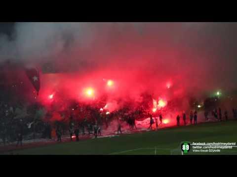 Kocaelispor Tribünlerinden Meşale Şov | Emrah Özşahin