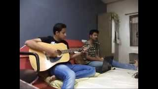 2 STATES -MAN MAST MAGAN-ARIJIT SINGH-ACOUSTIC COVER BY GAURAV AND SANSKAR