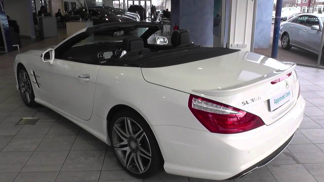 mercedes benz sl class sl 350 amg sport 2dr auto u38512. Black Bedroom Furniture Sets. Home Design Ideas