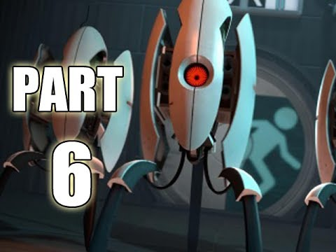 Let's Play Portal 2 - Part 6 (Gameplay & Commentary)