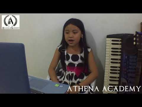 Ikaw Cover by Melody Averilla: Athena Academy ( Voice Lesson-Beginner )