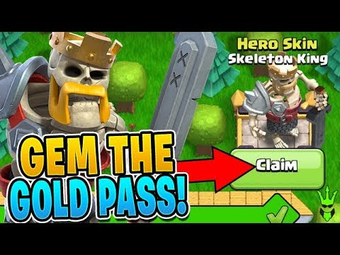 GEMMING TO UNLOCK THE SKELETON KING! - Clash Of Clans