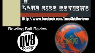 dv8 bowling freakshow solid ball review by lane side reviews