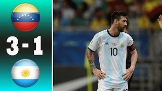 Copa America 2019 ? Argentina vs Venezuela 1-3 Highlights & All Goals (Last Match) 2019 HD