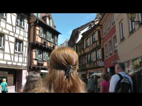 Viking Cruises walking tour of Old Town Colmar, France