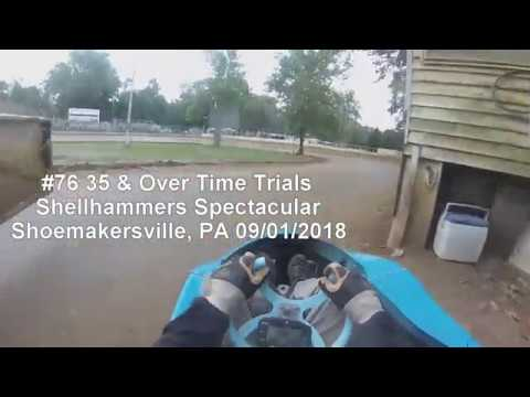 Shellhammers Spectacular 35 & Over Time Trials 09/01/2018