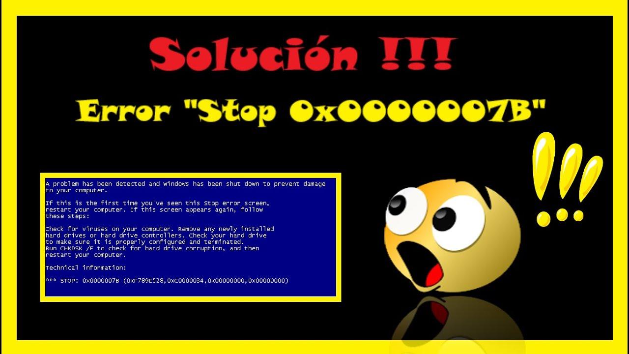 Stop 0x7b