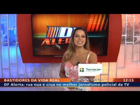 DF ALERTA - Bandido esconde maconha em carro e matagal para vender