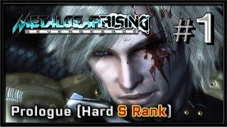 Metal Gear Rising: Revengeance PC Gameplay - Part 1 - Prologue (Hard S Rank)