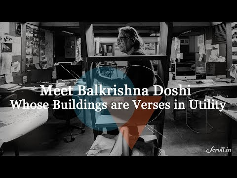 Meet Balkrishna Doshi, first Indian winner of the Pritzker Architecture Prize