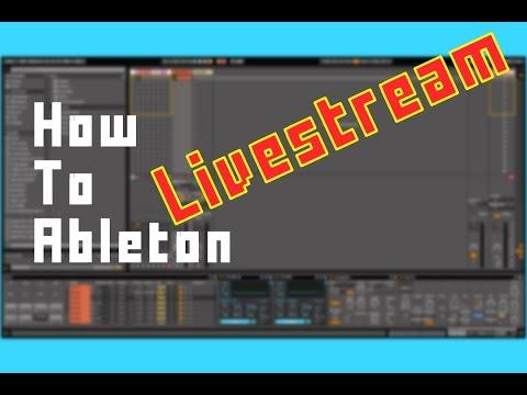 How To Ableton - Live Stream Glitch Drum Rack Richard Devine style