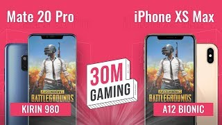 [30M Gaming #14] Huawei Mate 20 Pro vs. iPhone XS Max: Đại chiến CPU 7nm
