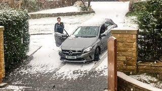 Nearly CRASHING my Girlfriends Car!