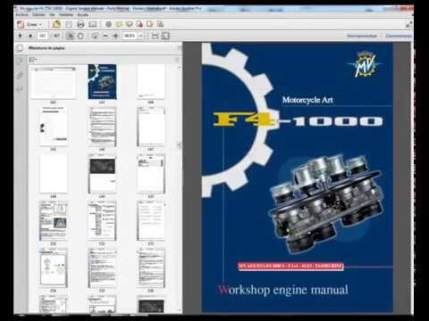 mv agusta f4 750 complete workshop repair manual