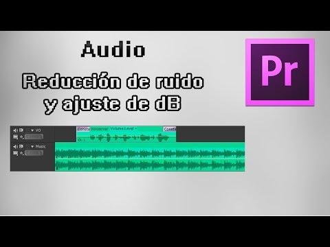 Ajustar las pistas de audio en Premiere