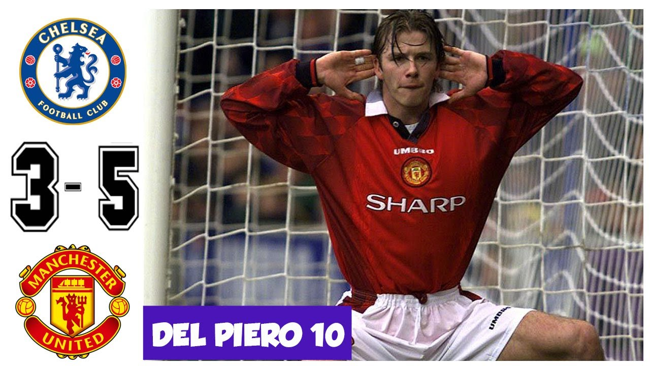 Download Chelsea vs Manchester United 3-5, FA Cup 1997/1998 Round 64 - All Goals and Highlights