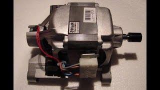 Что будет, если подключить мотор стиральной машины к аккумулятору