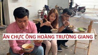 Khương Dừa ăn chực của ông Hoàng Trường Giang tại Thiên đường ẩm thực