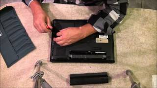 DIY - How to Remove the Hard Drive from an HP DV6000 Series Laptop.