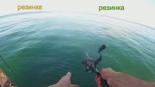 Ловля саргана на пилькер в Черном море.Metaljig.