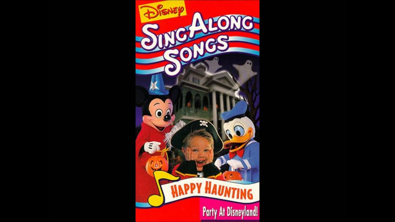its halloween from happy haunting party at disneyland by disney sing along songs youtube