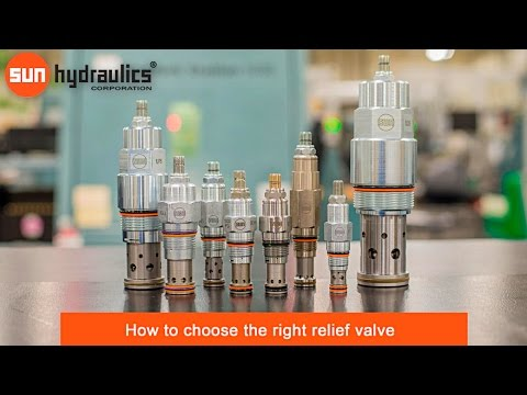 How to choose the right relief valve - Sun Hydraulics Corporation