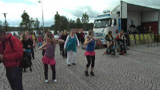 Latin Dance Zumba style uppvisning 2