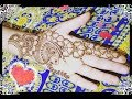eid special hand mehndi design #1/simple hand mehndi design.