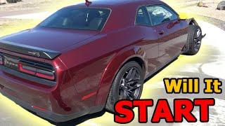 Rebuilding a Wrecked 2018 Widebody Challenger Hellcat Part 2