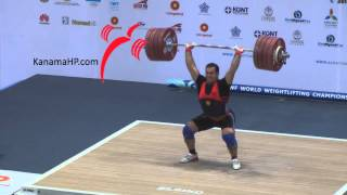 World's Weightlifting Championship 2014: world records 105kg
