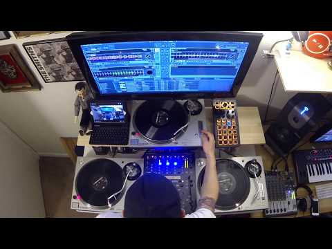 Dentroit Techno Session #1 - Behringer DDM4000 | Technics 1200 M3D Turntable Techno