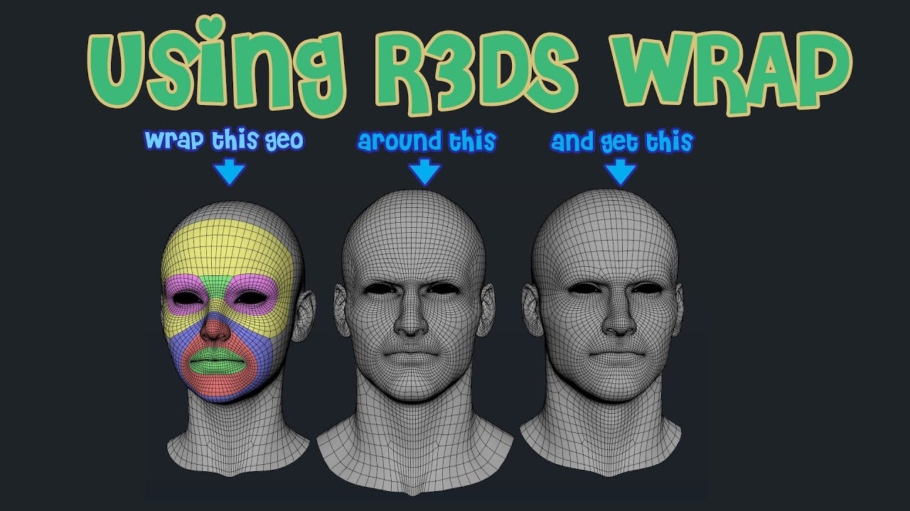 Download Using R3DS Wrap - Never retopo again