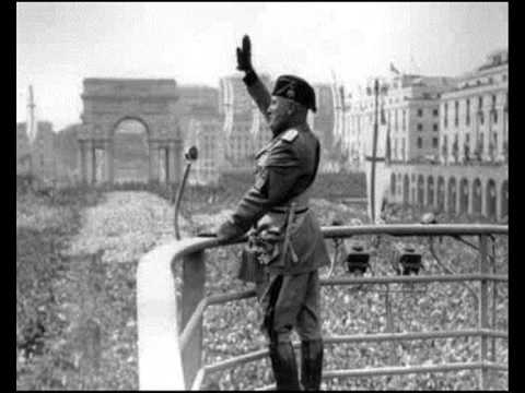 Discorso Camera Mussolini : Mussolini presidente il primo discorso è quello del bivacco