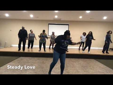 Steady Love Line Dance Created by Windy Lawrence Booker Song by India Arie