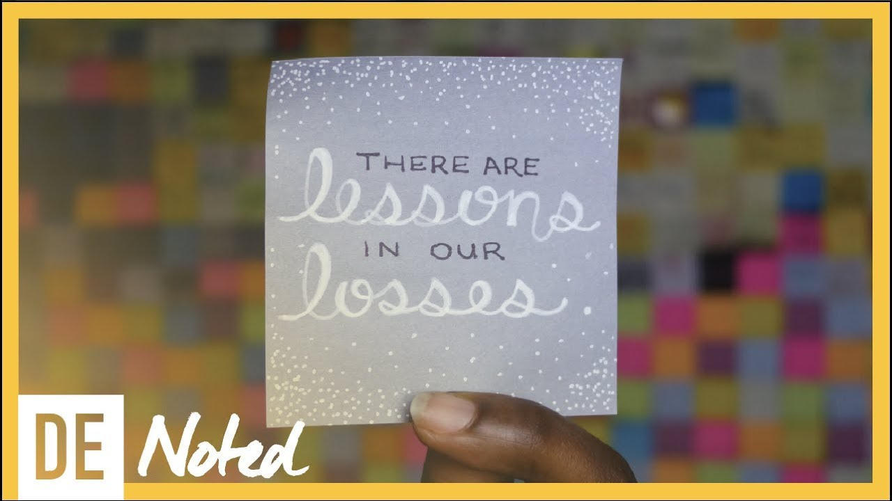 Lessons in Loss | Sticky Note to Self | De Andrea Nichols