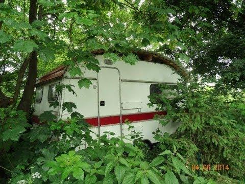 wir bauen ein rundes dach auf dem wohnwagen von felix. Black Bedroom Furniture Sets. Home Design Ideas