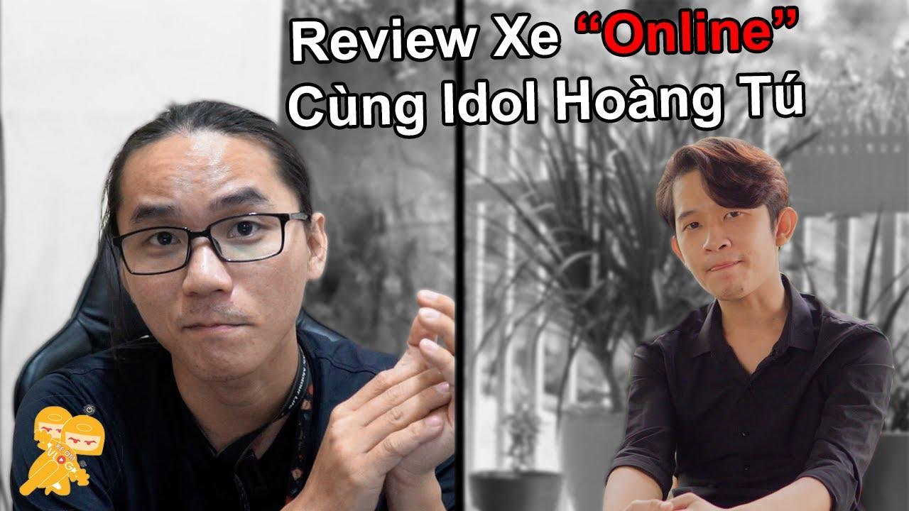 Review Xe Air Blade 2021 Cùng Idol Hoàng Tú Vlog Mùa CôVy  - Xe Ôm Vlog