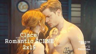 Shadowhunters 2x19 Clary Jace Romantic Scene Drawing Rune  with music Clace Season 2 Episode 19